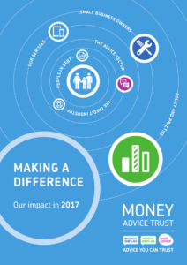Impact Report 2017 front cover